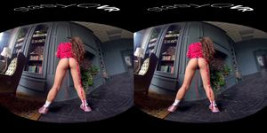 Beautiful Amateur Girls Dancing And Teasing In This Exclusive VR Video